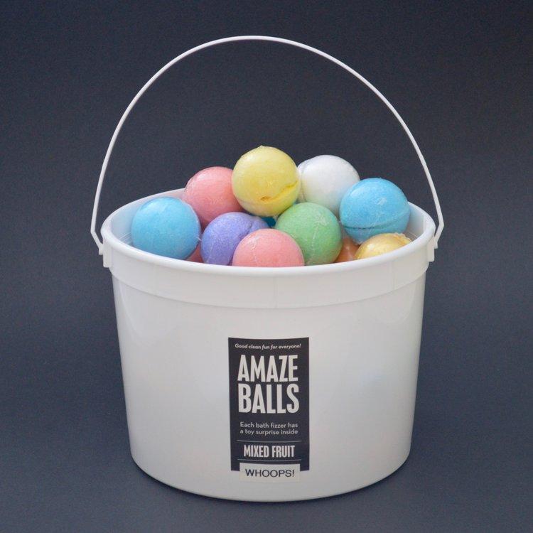 Top Whoops! Amazeballs Pail — Da Bomb Bath Fizzers™ BW62