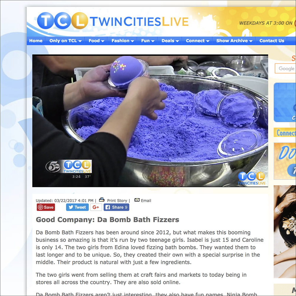Watch us give Twin Cities Live a tour of our warehouse by clicking on this photo.