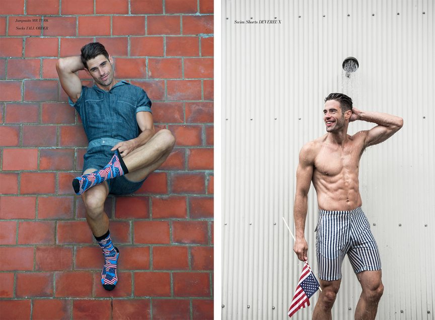 CHAD WHITE - BOLD STRIPED SHORTS AMERICAN FLAG.jpg