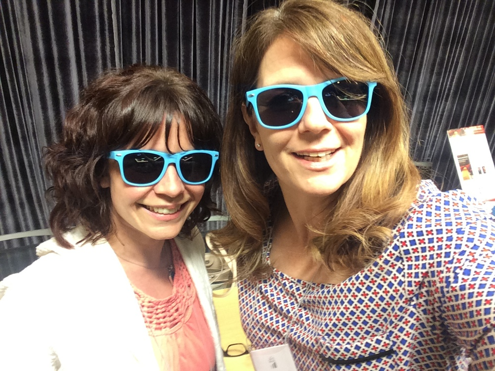 ....aaaaand rocking our sunglasses for an AudienceView selfie.