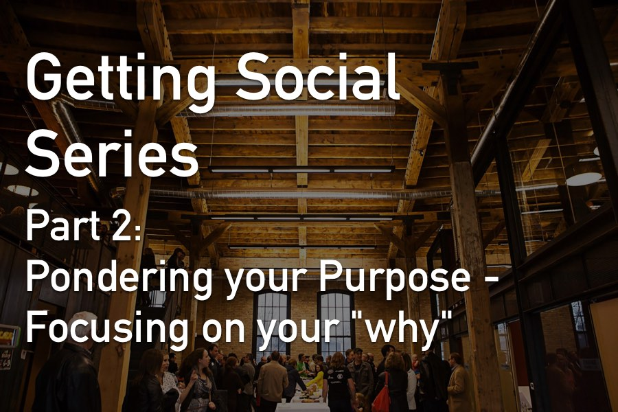 "Part 2 of a 4 part ""Getting Social"" Series. The events can be attended separately, or attend all 4 for an end-to-end social media engagement experience!"