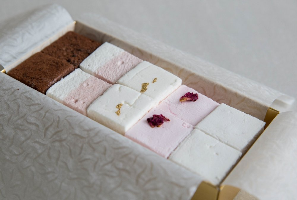 Assorted Gift Box of 10 Marshmallows