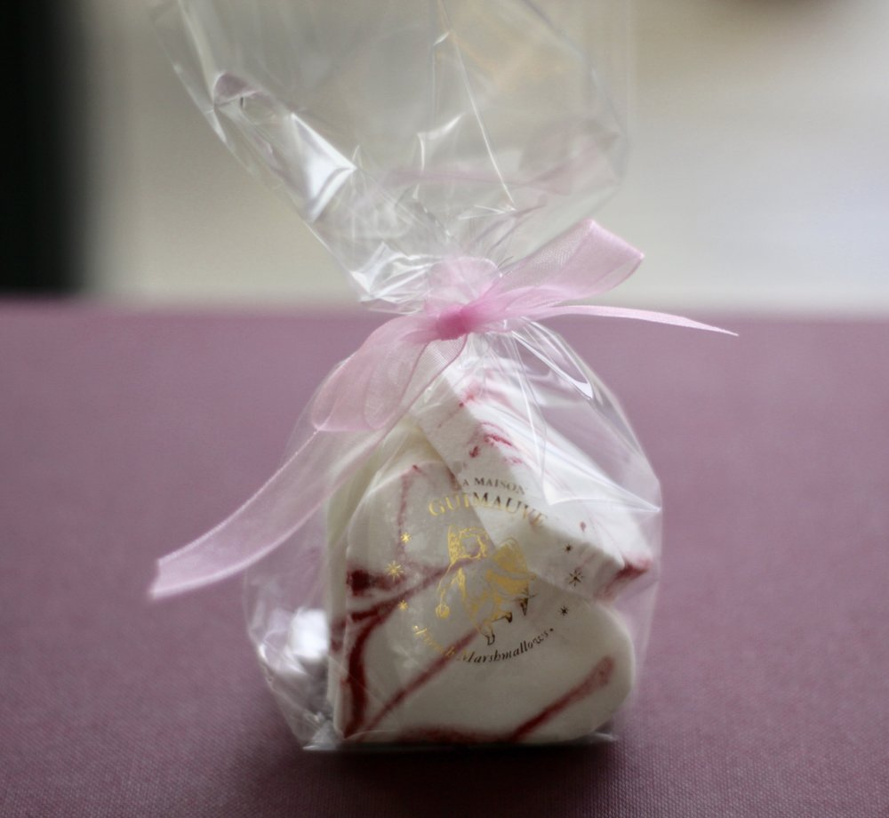 Lemon and Raspberry Swirl Heart Marshmallows - fruity tastes and summery vibes