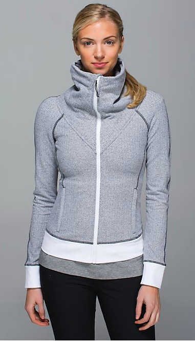This Lulu Lemon Be Present Jacket is on my wish list!