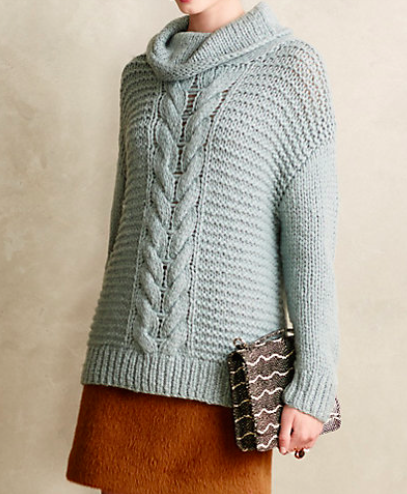 This Cowl Neck Sweater is as cozy as it is gorgeous!