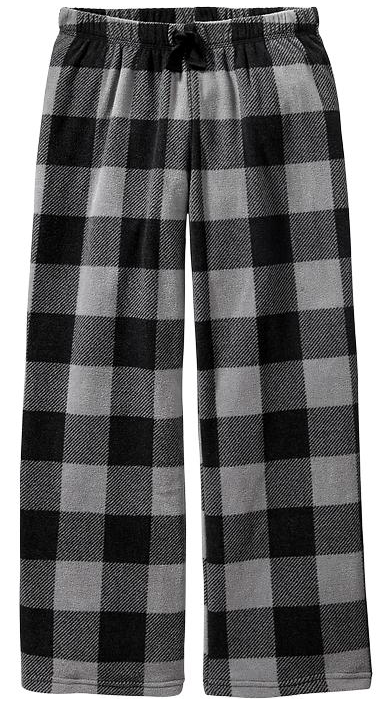Old Navy Plaid Fleece Pajama Bottoms.