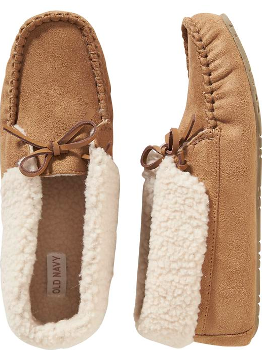 Old Navy Women's Sherpa Bootie Slippers.
