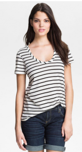 Caslon Relaxed U-Neck Tee, $25.
