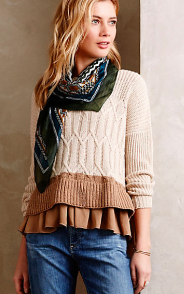 Anthropologie Aubin Pullover.