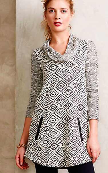 Anthropologie Konya Cowlneck Tunic. {currently 20% off!}