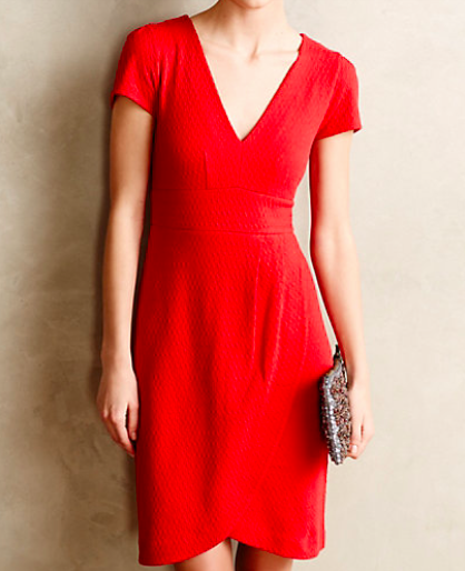 Anthropologie Tulip Hem Dress.