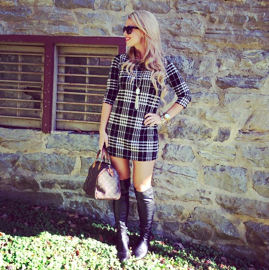 Forver 21 Plaid Dress, $19.90.