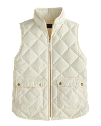 J.Crew Excursion Quilted Vest.