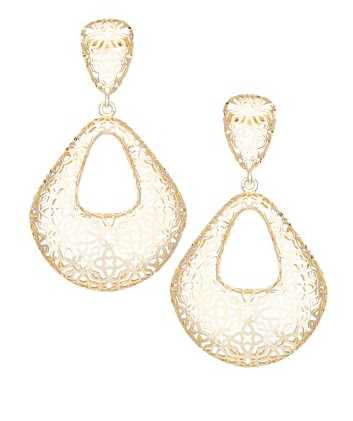 Kendra Scott Sarah Statement Earrings.