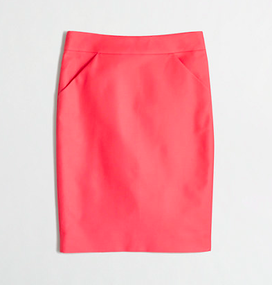 J.Crew Factory Pencil Skirt.