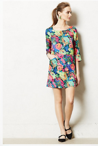 Anthropologie Tropicalist Shift.
