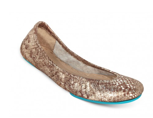 Tieks in Wild Copper.