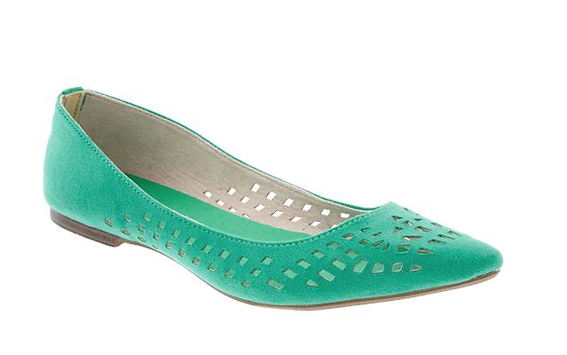 Old Navy Perforated Faux-Suede Flats.