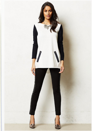 Anthropologie French Terry Tunic.
