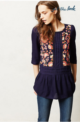Anthropologie Luana Blouse.