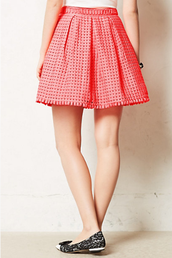 Anthropologie Coquelicot Skirt.