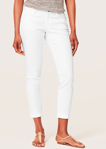 LOFT Curvy Skinny Cuffed Ankle Jean. {I have heard several clients mention that these fit great for the price.}