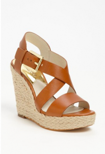 MICHAEL Michael Kors Giovanna Wedge, $149.95.