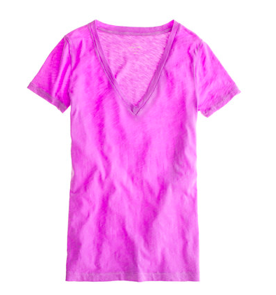 A go-to fav :: J.Crew Vintage cotton tee. $19.99.
