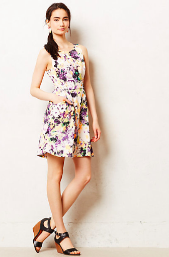 Anthropologie Pebble Print Dress.