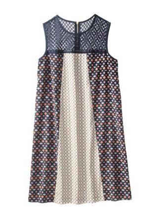 Target Xhilaration Mixed Print Shift Dress.