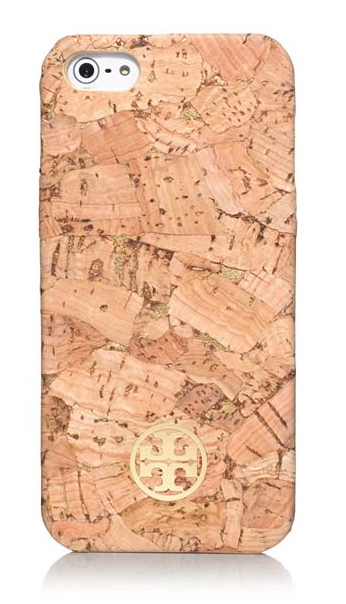 Tory Burch Metallic Hardshell Case for Iphone.