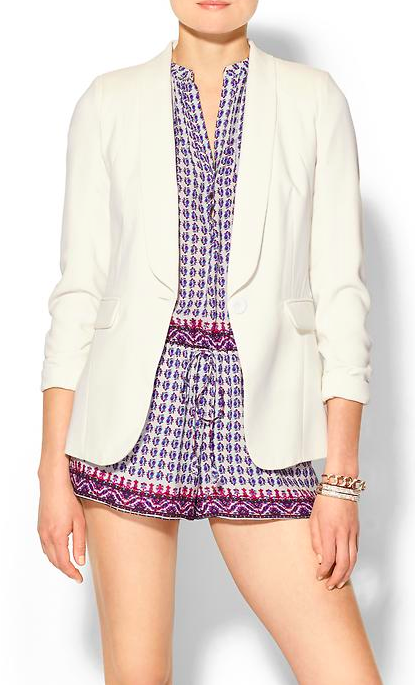 Pure Sugar Drapey Blazer via Piperlime.