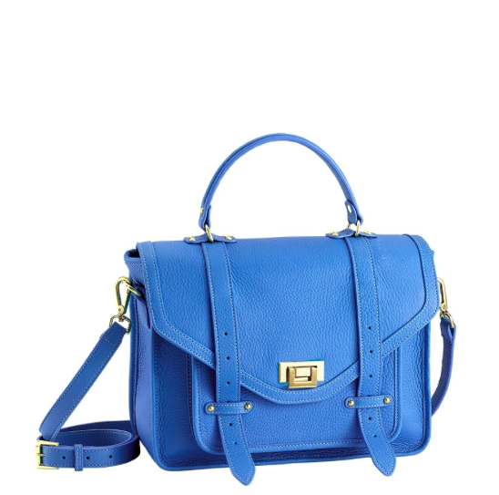 Hayden Satchel in Sky Blue.