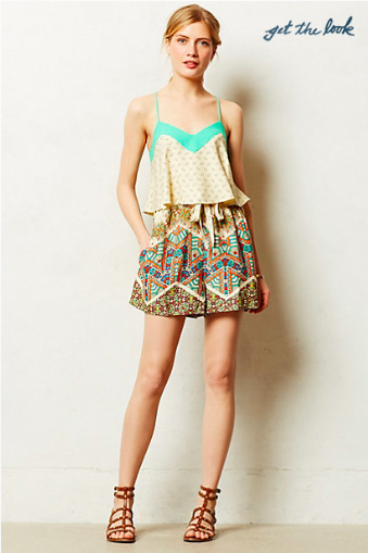 Anthropologie Mintaka Romper.