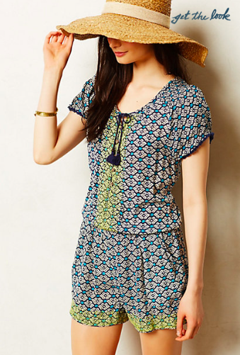 Anthropologie Long Weekend Romper.