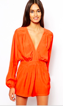 ASOS Motel Jet Playsuit.