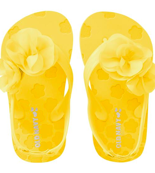 Old Navy Rosette Flipflops.
