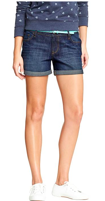 Old Navy The Boyfriend Denim Shorts.