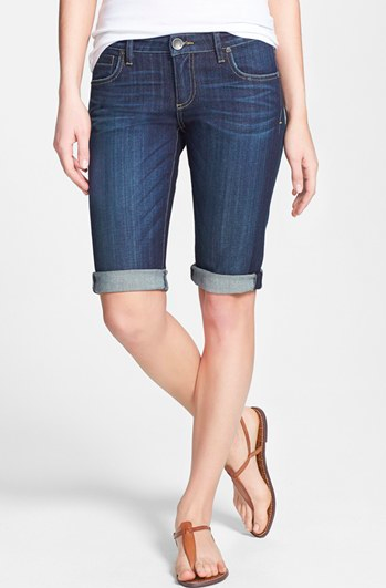 KUT from the Kloth Roll Up Bermuda Shorts {currently 405% off!}.