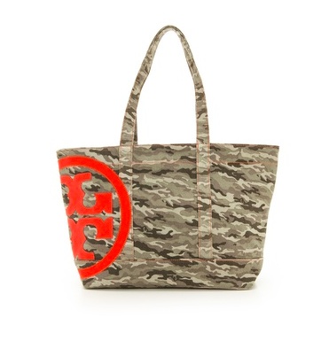Tory Burch Canvas Tote.
