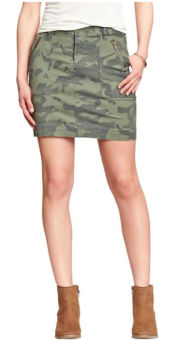 Old Navy Utility Skirt. {currently on sale!}