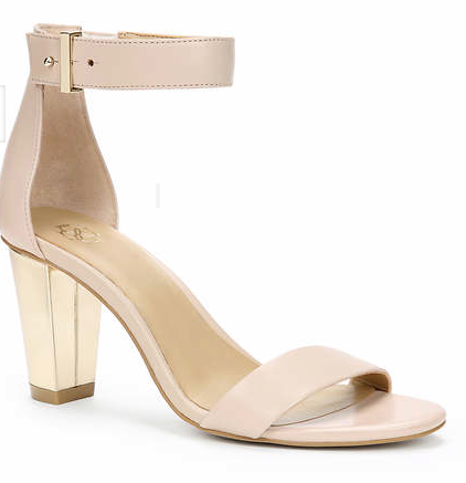 Ann Taylor Rayleigh Leather Ankle Strap Sandal, $128. {currently 50% off, making them $64!}