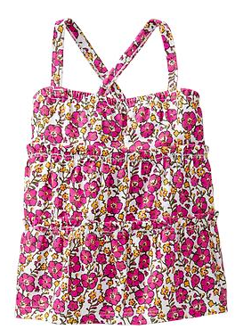 Old Navy Floral-Print Tiered Cami.