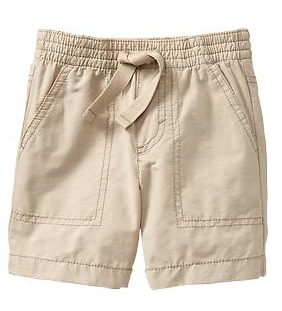 Old Navy Pull-On Poplin Shorts.