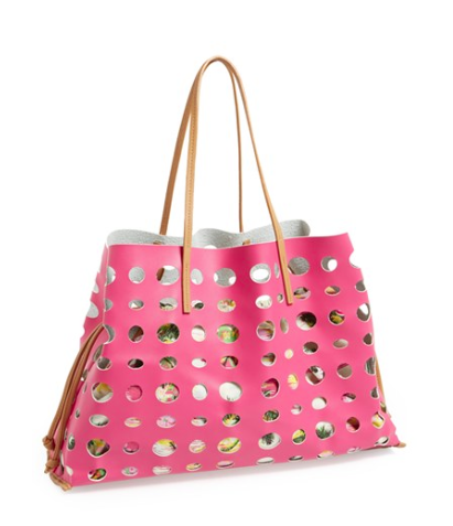 Poverty Flats by Rian Faux Leather Tote, $88. {available in four colors}