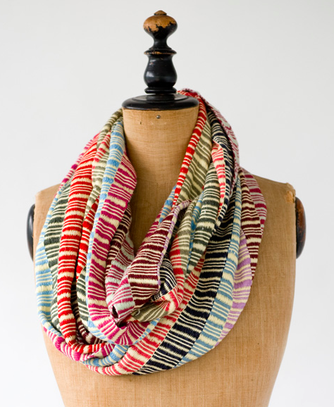Angelica Infinity Scarf, $58.