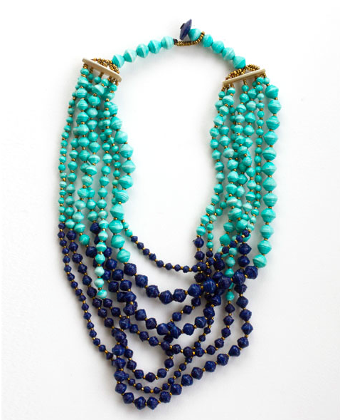 Tushabe Layered Necklace, $84.
