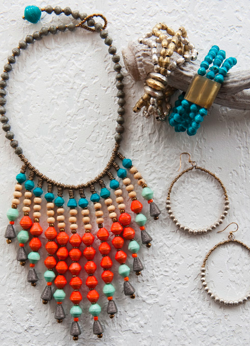 Serengeti Necklace, $58.