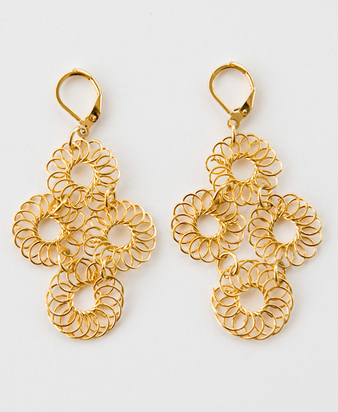 Blossomed Earrings, $33.