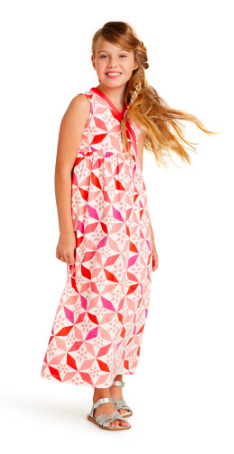 Tea Collection Tile Print Maxi Dress. {currently on sale!}